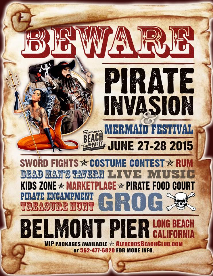 Pirate Invasion of Belmont Pier and Mermaid Festival — LA Raqs