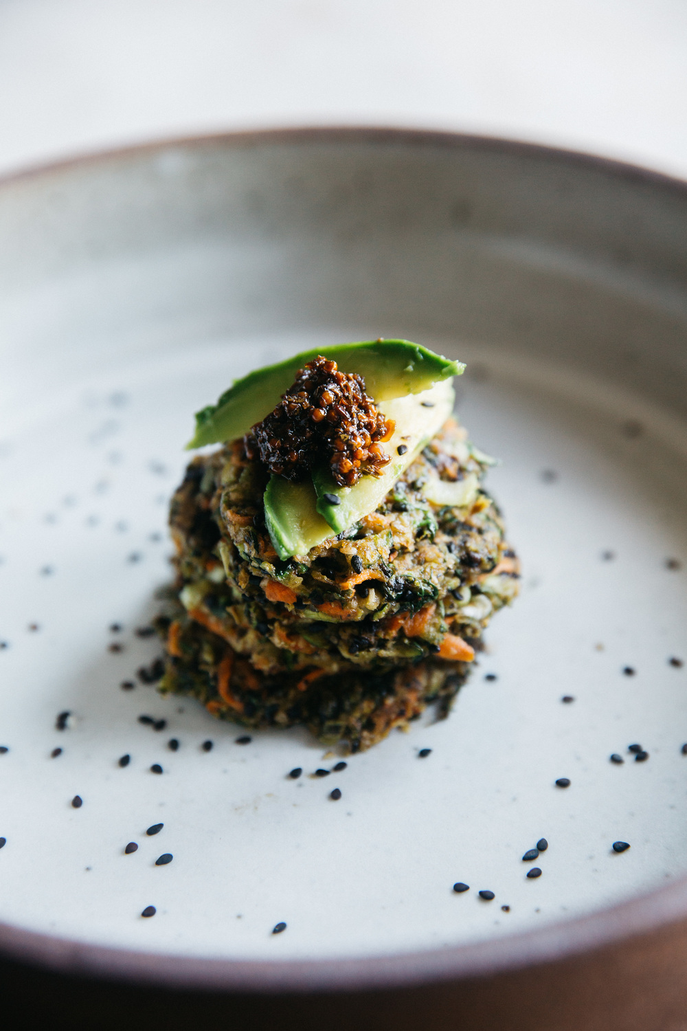 personal, chef, healthy, nutritious, meals, zucchini fritters 1