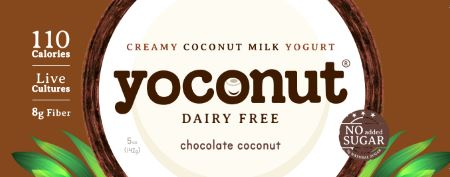 Coconut Yogurt, Chocolate coconut, chocolate yogurt, Dairy Free Yogurt