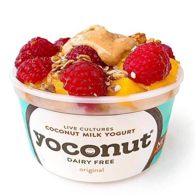 "🎉GIVEAWAY!! 🎉  We are so excited to announce our first 2019 giveaway with @fitonthetable  We love @fitonthetable because of her authenticity in sharing the good foods she found. We want to amplify that and share our indulgent and no added sugar coconut yogurt to her fans. ENTER NOW TO WIN SAMPLE PACK OF 6 YOCONUT DAIRY FREE COCONUT YOGURT delivers to your door. ""I found @yoconutdf in my search for tasty dairy free yogurts, and I've partnered with them to give one of you a chance to try them too!!"" Enter below to get a SAMPLE PACK of @yoconutdf dairy free yogurts delivered to your doorstep! This is SIX of their yogurts, which includes their original, chocolate, lemon and vanilla flavors! Thanks to the lovely Bonnie for her delicious yogurts! . .  To enter all you have to do is: 1. Like this photo 2. follow  @fitonthetable and @yoconutdf  3. Tag 2 friends! (Multiple entries are welcome) This giveaway is not sponsored by Instagram and must be a US resident to win. Winner will be announced on 1/26. Good luck!!! #yoconutdf #coconutyogurt #dairyfreeyogurt #noaddedsugar #supersnack  #plantstrong #eatrealfood #eatmoreplants #coconut #iamwellandgood #yogurt #guthealth #yogurtbowl #sffoodies #vegan #whatveganseat"