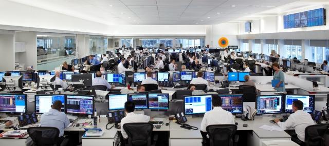 Superb National Bank Trading Floor