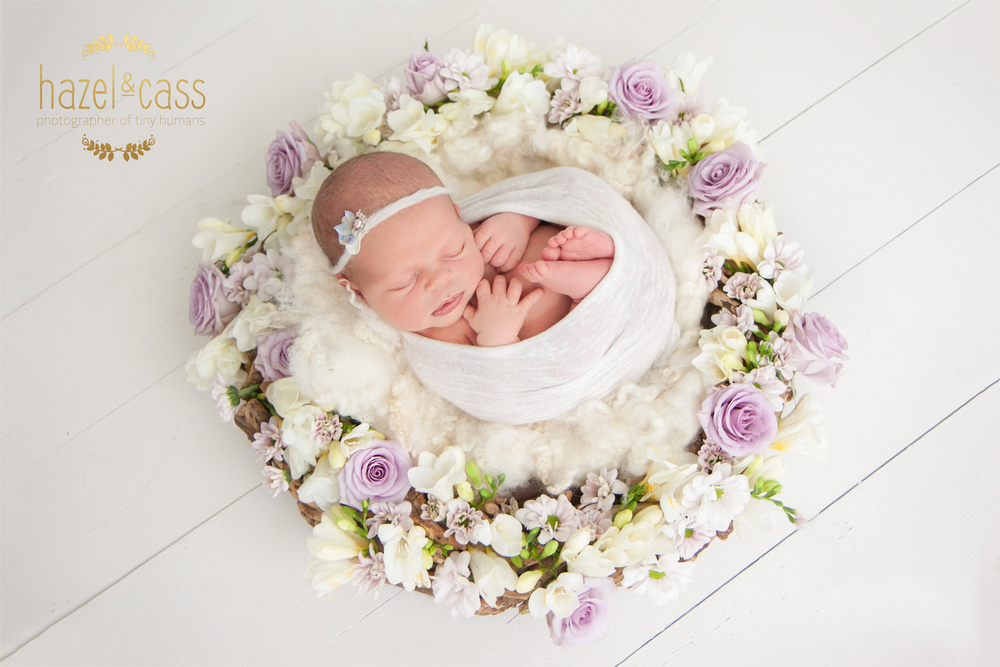 With harriets session i decided to pop down and get some fresh flowers i think i have started a new obsession newborns and fresh flower wreaths