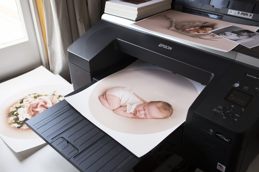 Our beautiful fine-art printer