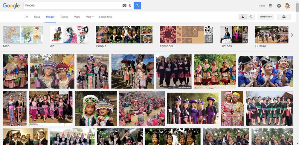 Googling Hmong