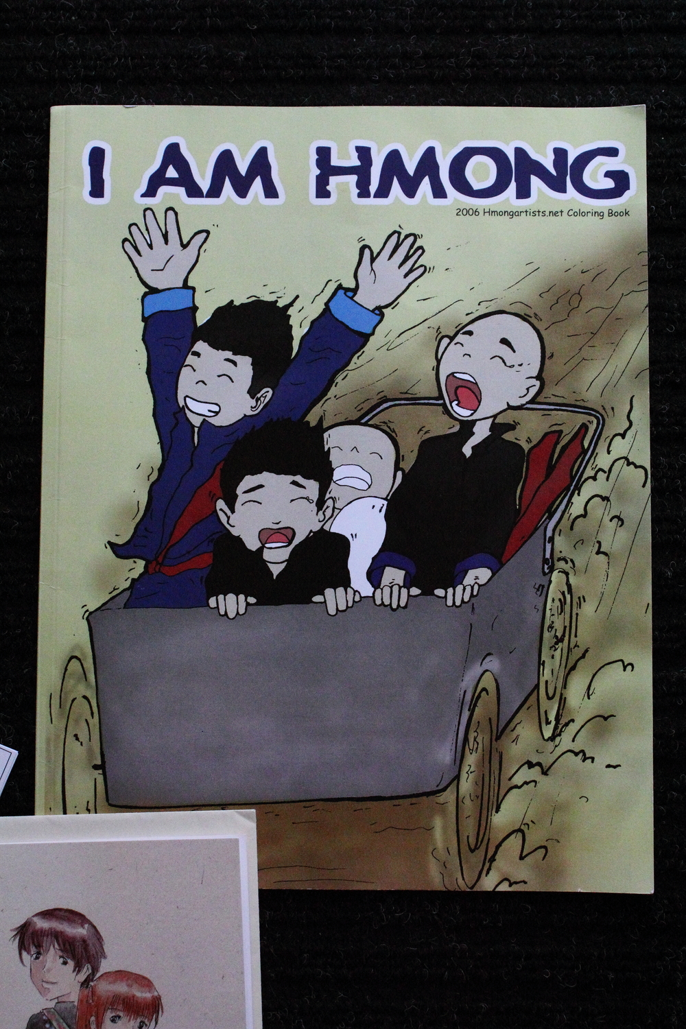 Collectible: I am Hmong Coloring Book