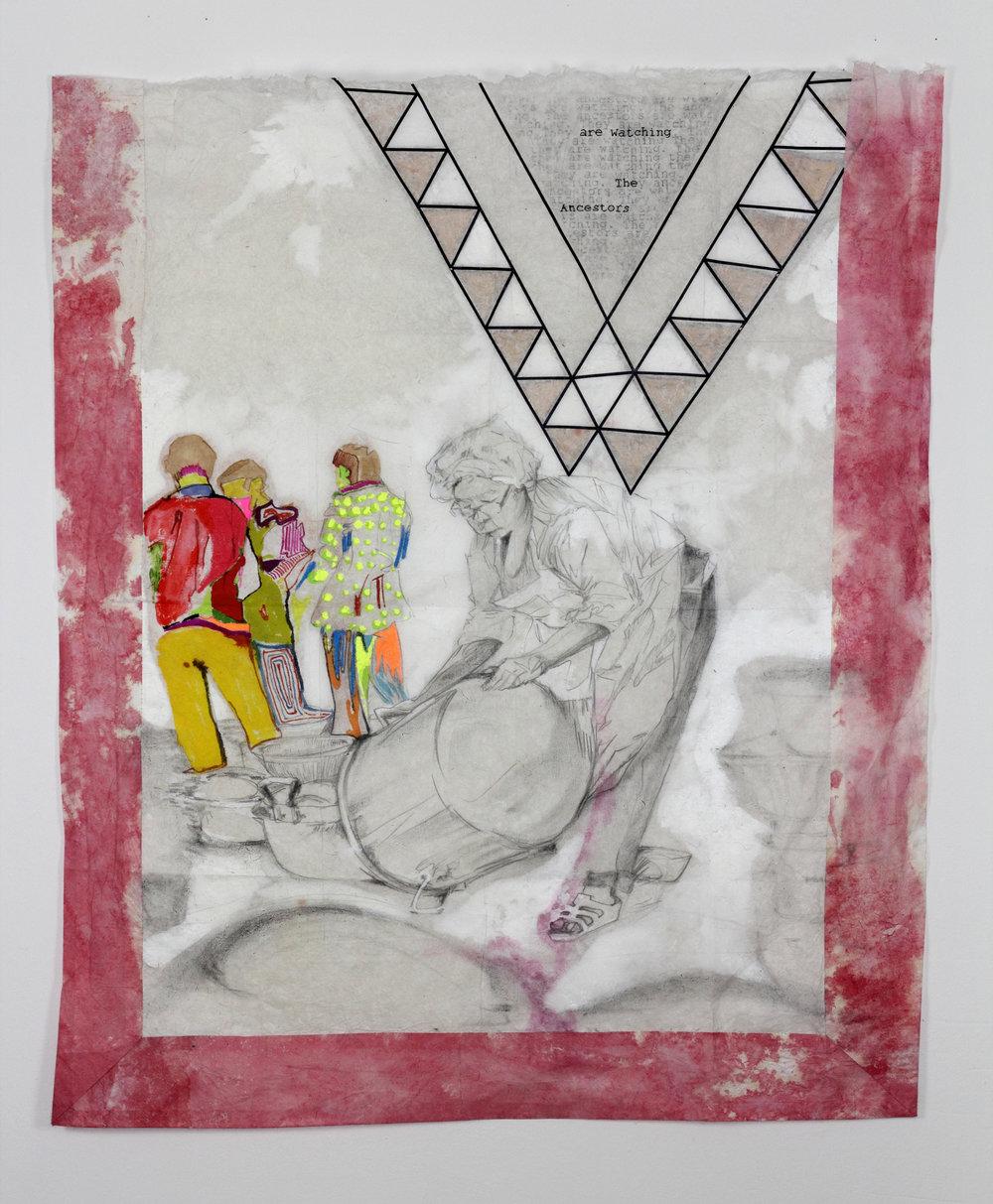Back piece #7, Dab tshos #7