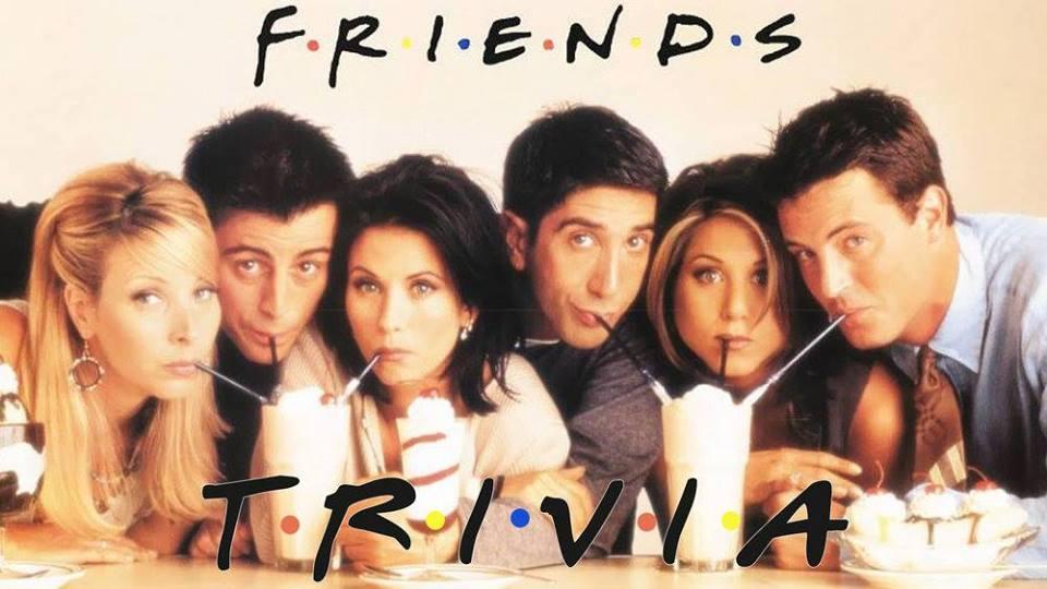 Friends Trivia Bar Crawl — Williwaw