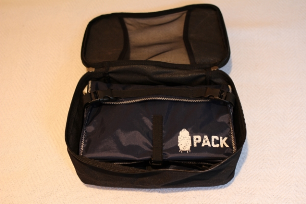 You can fit two entire PACKS into one medium packing cube - that's efficient use of space.