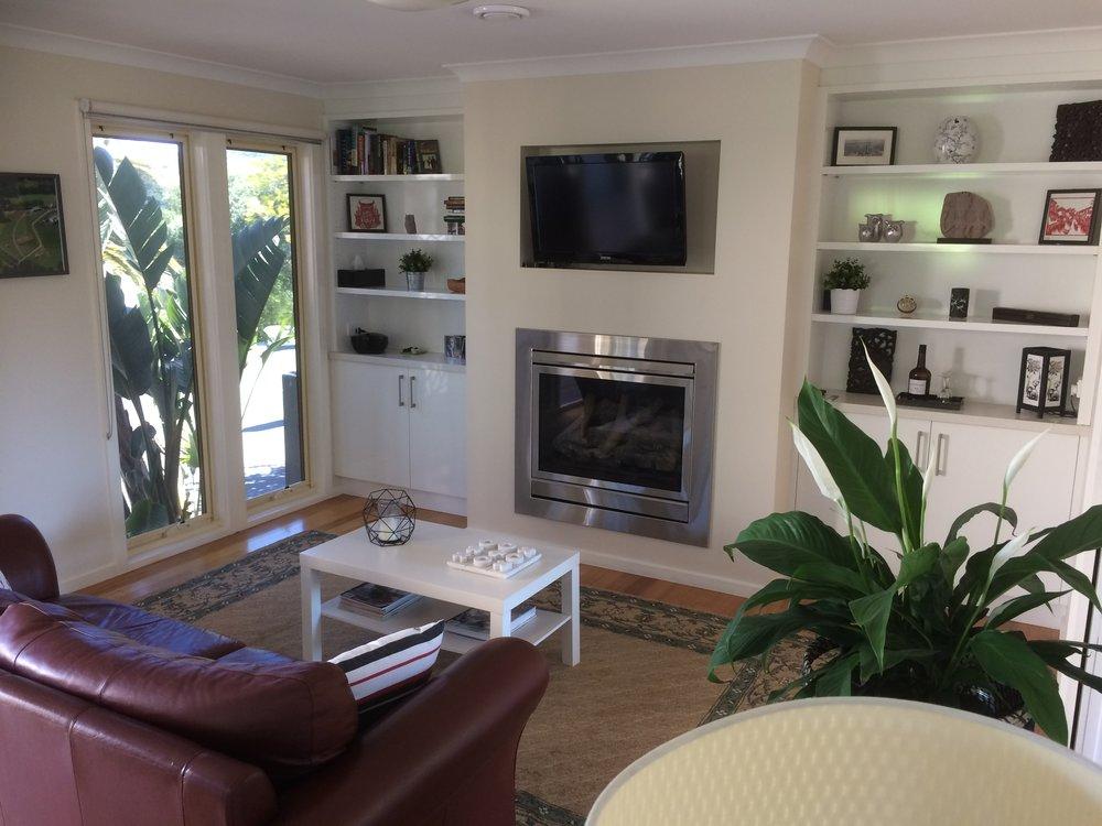 Emerald Ridge Cottage - Lounge room