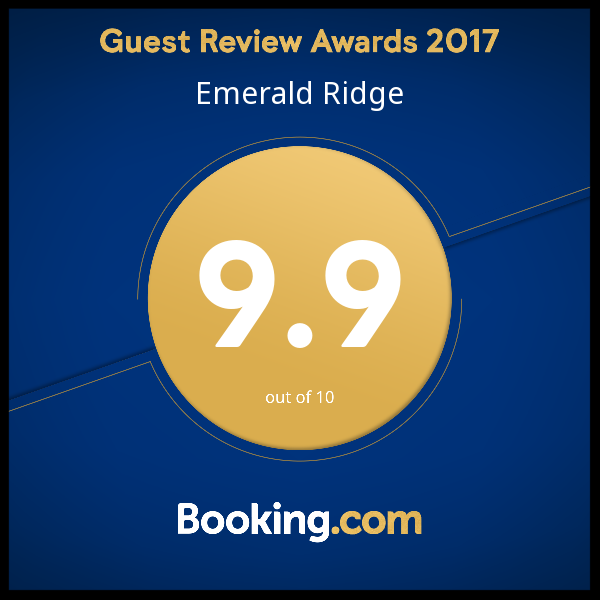 We are very proud to receive this award from Bookings.com for 2017. #guestsloveus @bookingcom