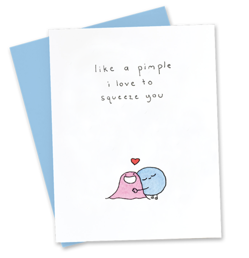 love squeeze greeting card josie eadie