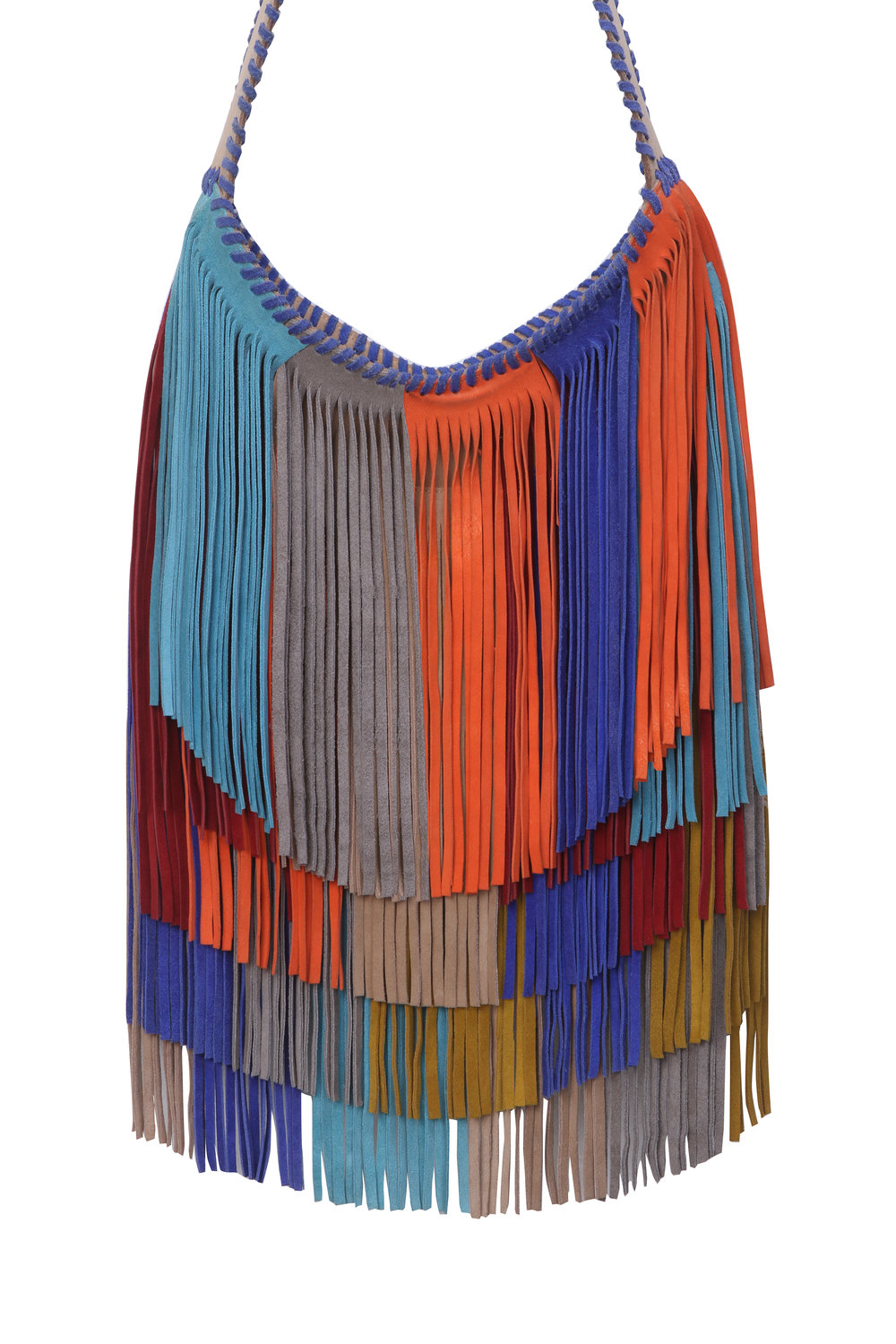 Rainbow Fringe Bag