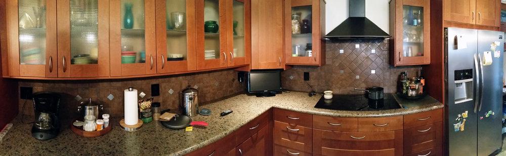 Kitchen Cabinet Install (Panorama)
