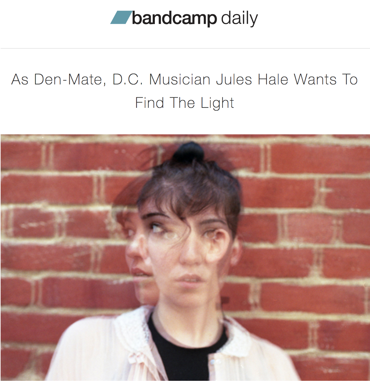 DEN-MATE INTERVIEW IN BANDCAMP DAILY — Babe City Records