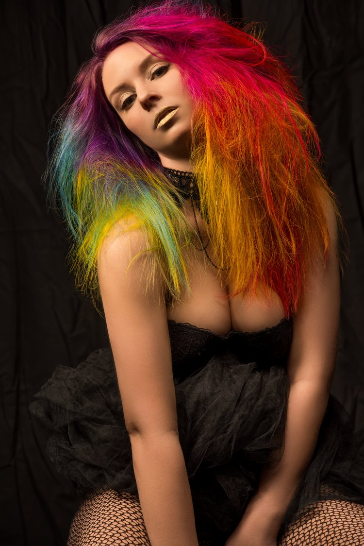 Hair Color & Stylist: Alyce Walters, Photographer: Blake Aghili