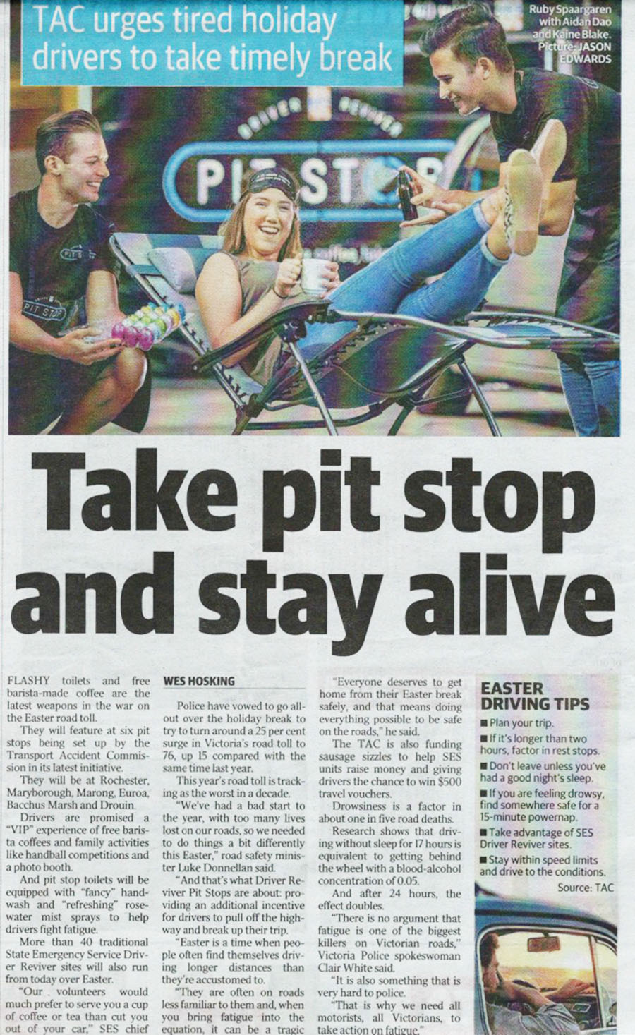 Page 8, Herald Sun, Thursday March 24, 2016
