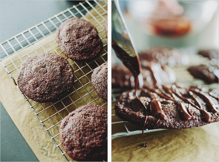 Tripple Chocolate Cookies . Sprouted Kitchen