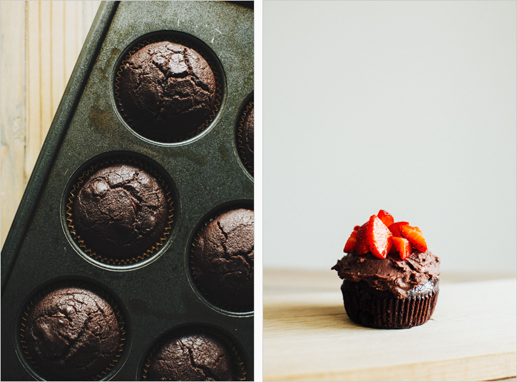 Chocolate Cupcakes . Sprouted Kitchen