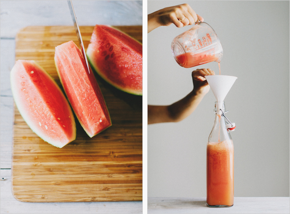 Grapefruit & Watermelon Agua Fresca . Sprouted Kitchen