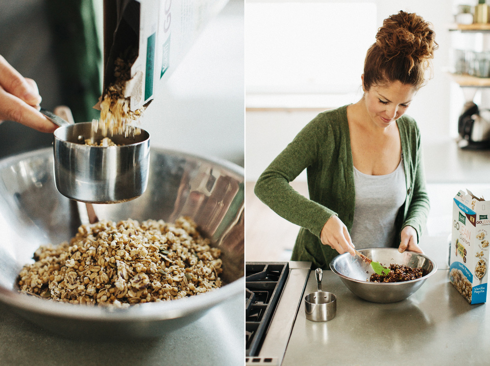 Peanut Butter Cereal Balls . Sprouted Kitchen