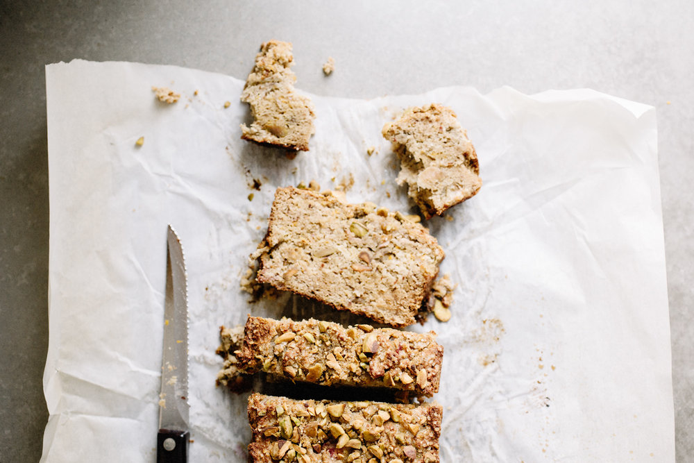 Pistachio Rhubarb Loaf . Sprouted Kitchen