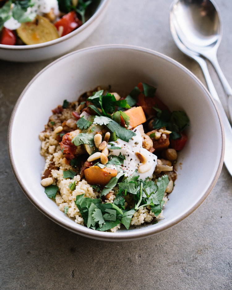 vegetable tagine with apricot couscous . Sprouted Kitchen