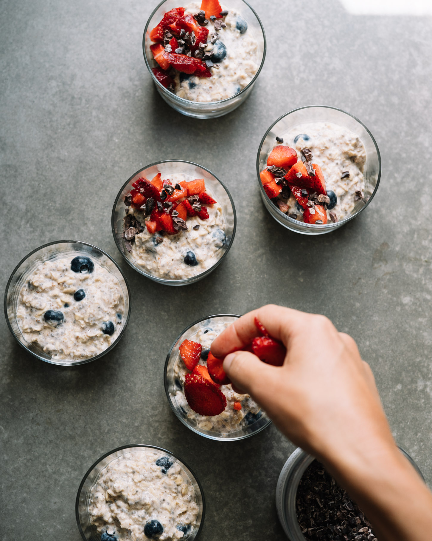 Mixed berry overnight oats . Sprouted Kitchen