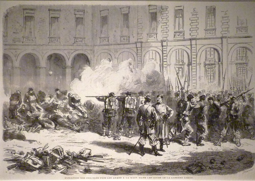 The execution of captured Communards