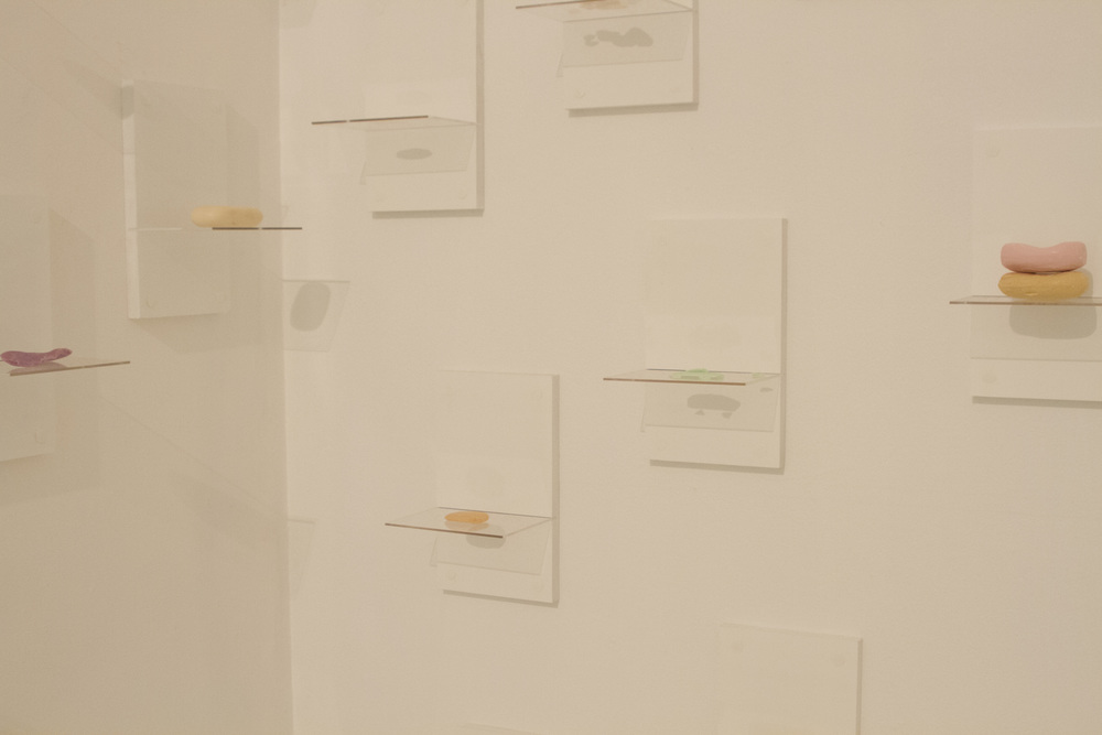Soap Exchange - Installation view, Seventh Gallery, February 2015