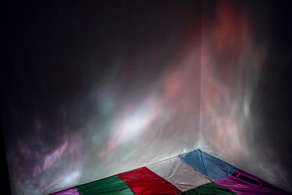 Colour Light Plays - installation view - The Alderman