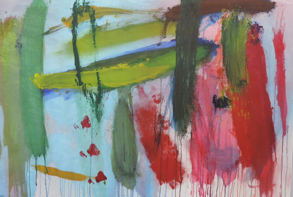 Untitled, acrylic paint, Geoffrey Barnett, 2014