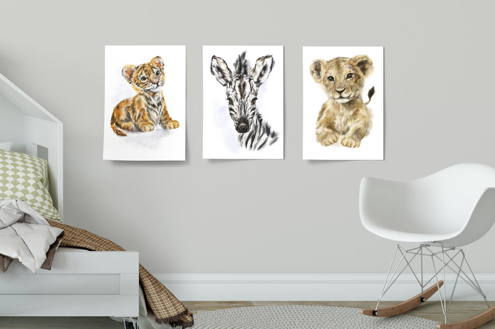 Fuss-Free Decor - Boring walls? Spruce 'em up with adorable posters! Perfect for kids rooms and nurseries, these posters are easy peasy to stick up — no frames needed. Choose from a wide selection of colourful characters, all printed on large A3 glossy paper.