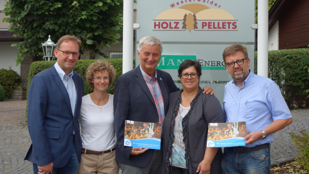 Spende aus dem Schulweg in Langenbach für die Schule in Peru!