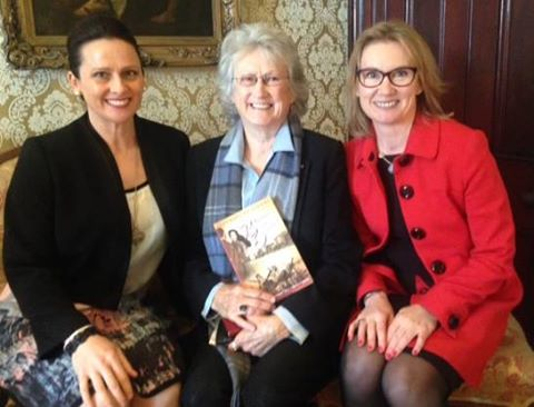 Jacqueline Dinan, City of Sydney Deputy Lord Mayor Robyn Kemmis, Jane Curry