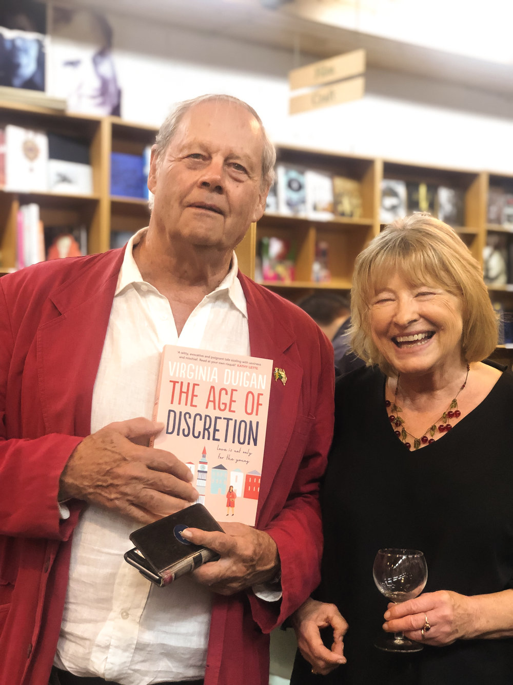 Bruce Beresford and Virginia Duigan