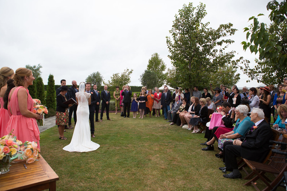 ceremony at Sileni Estate Winery