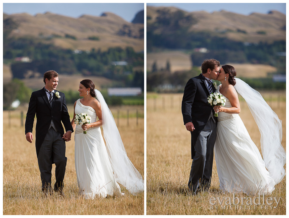 Rupert & Rachael Thomson, Hawkes Bay wedding