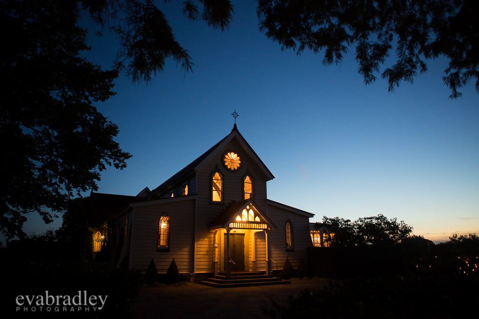 Weddings at The Old Church, Meeanee, Hawkes Bay