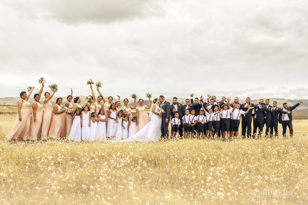 large-bridal-parties-nz-weddings
