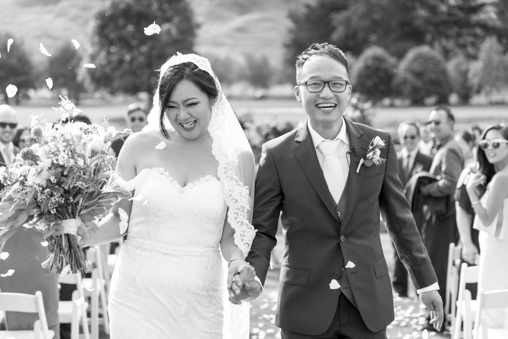 bride-groom-walking-down-aisle-nz