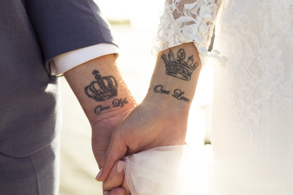 matching tattos nz weddings
