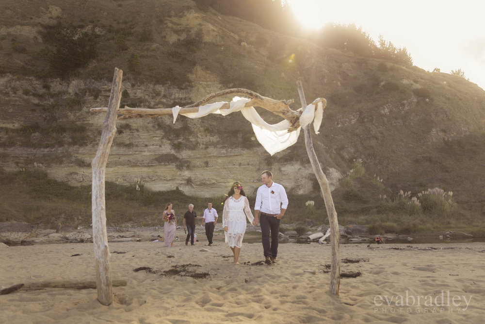 new zealand elopement wedding