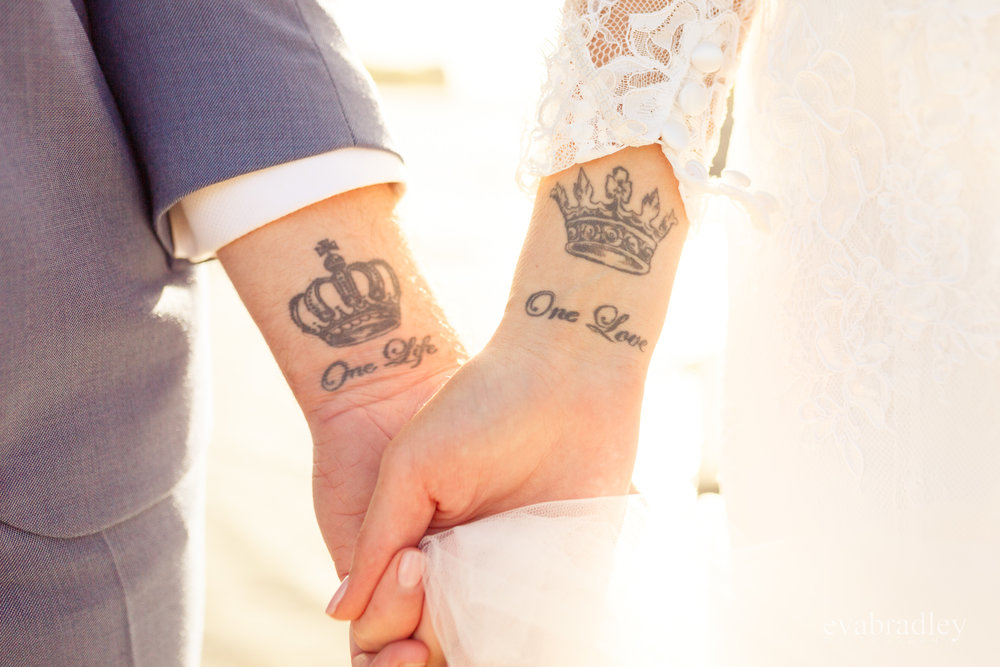 matching tattoos napier wedding photographers