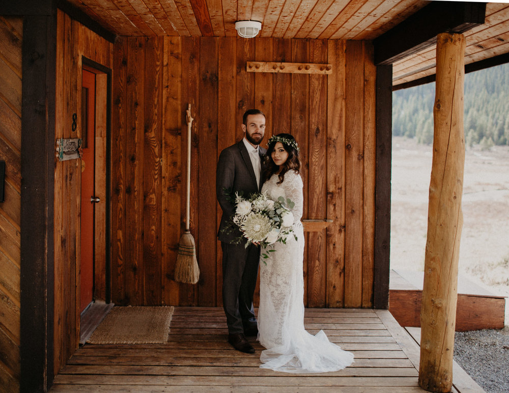 Mt Engadine Lodge Canada elopement | Banff Elopement Photographer Kandice Breinholt
