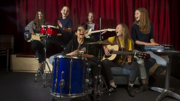 YoWo Young women's Music Program teaches teenage girls  to march  to beat of own  drum  -   The Age
