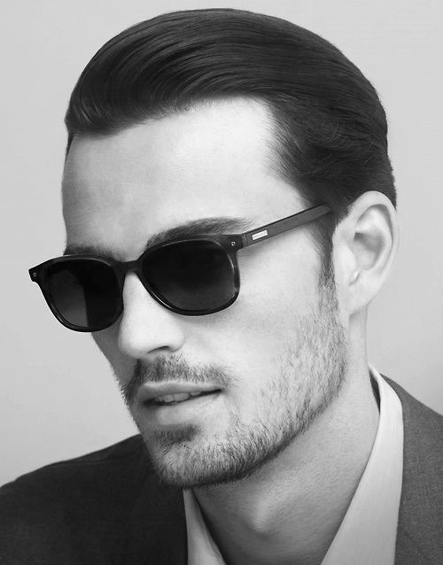 Slicked Back Hairstyle For Men 2017