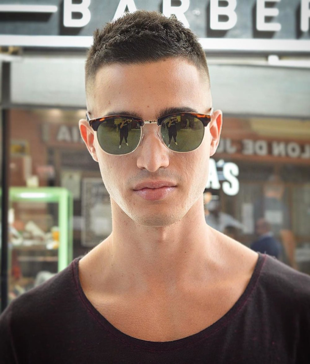 9 COOL SHORT HAIRSTYLES FOR MEN