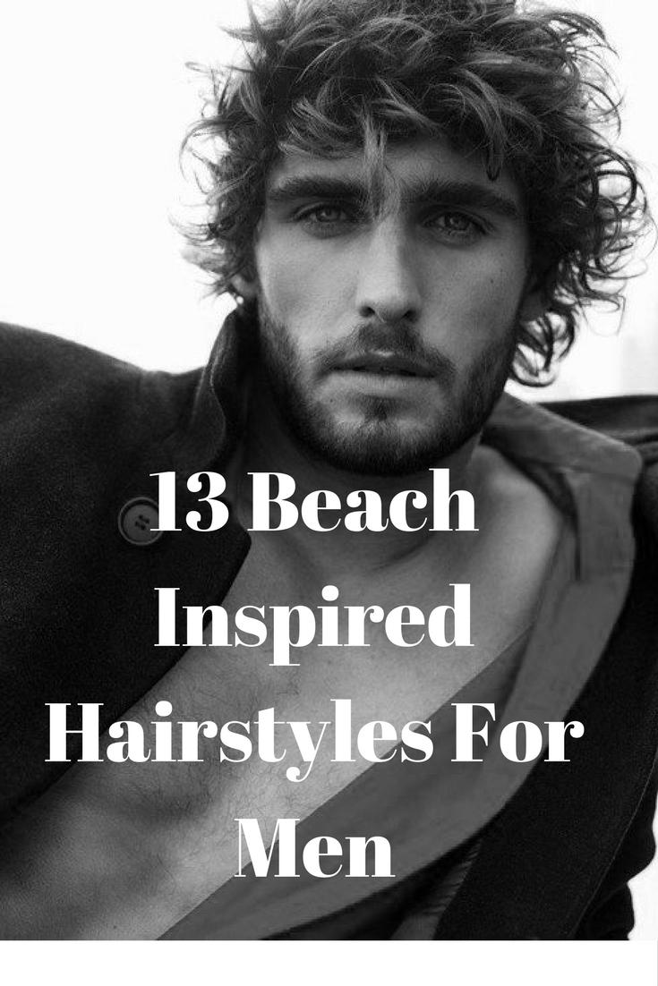 beach inspired hairstyles foe men