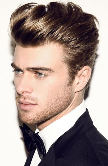 pompadour hairstyle for men