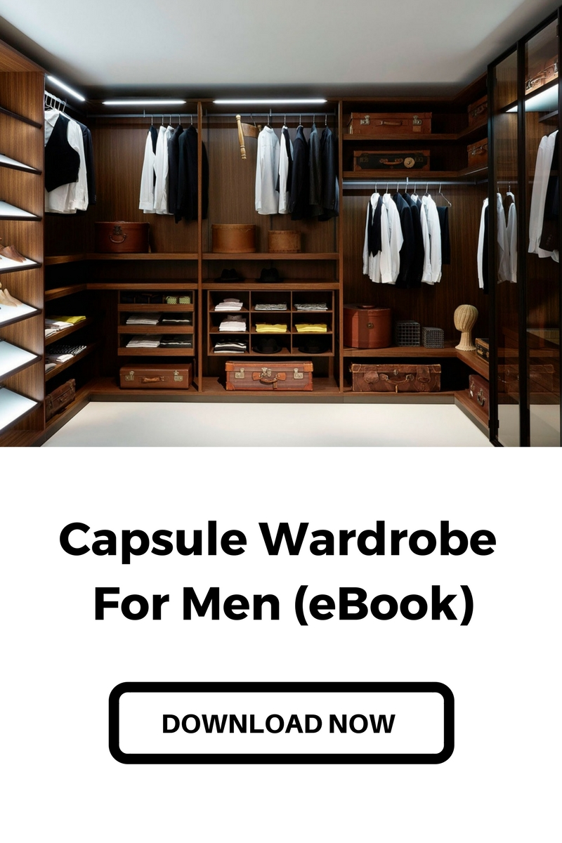 capsule wardrobe men eBook